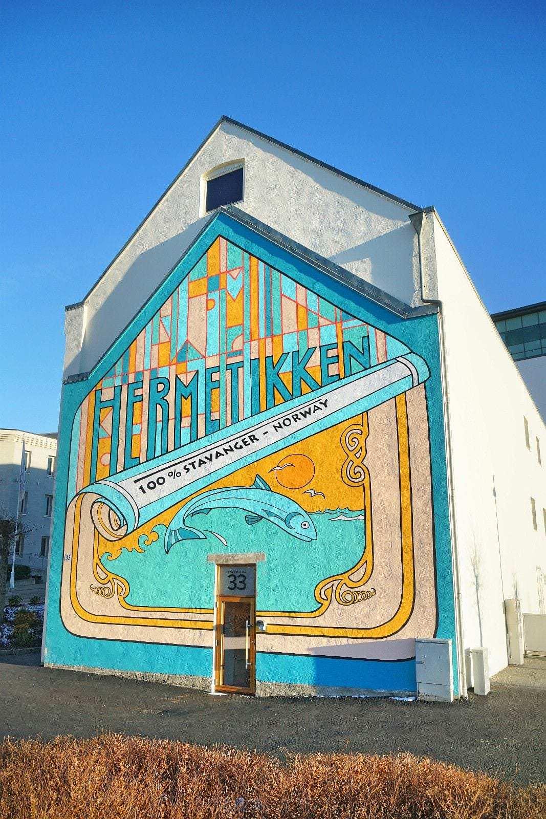 Hermetikken - fasade ut mot Badehusgata