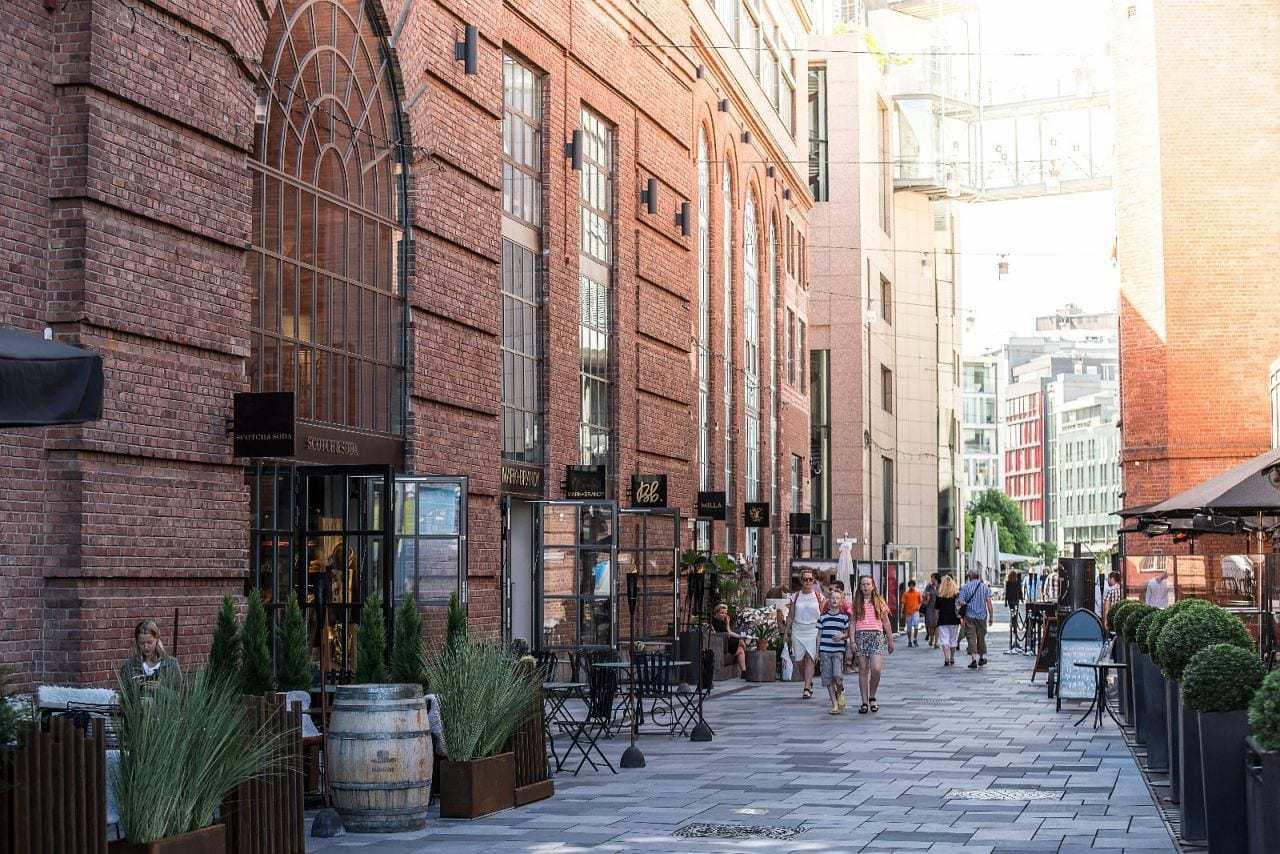 Aker Brygge - en ny og bedre bydel (Holmens gate)