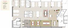 651 m2 kontor i 2. etasje med 34 arbeidsplasser