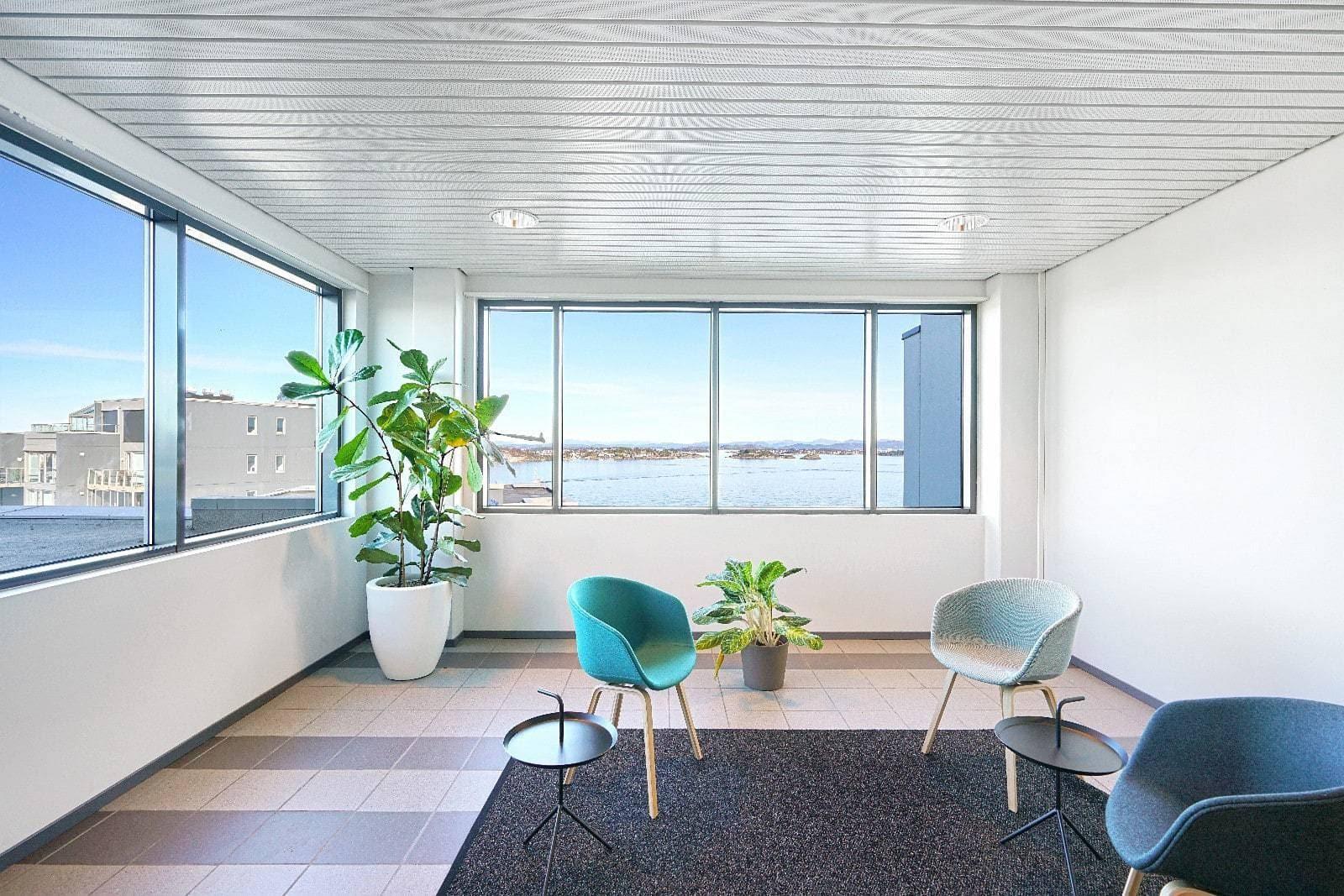 Business Village Svankevigå kontorfellesskap i 8. etasje, Badehusgata 37