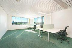 Kontor med opp til 4 arbeidsplasser på 46,2 m2