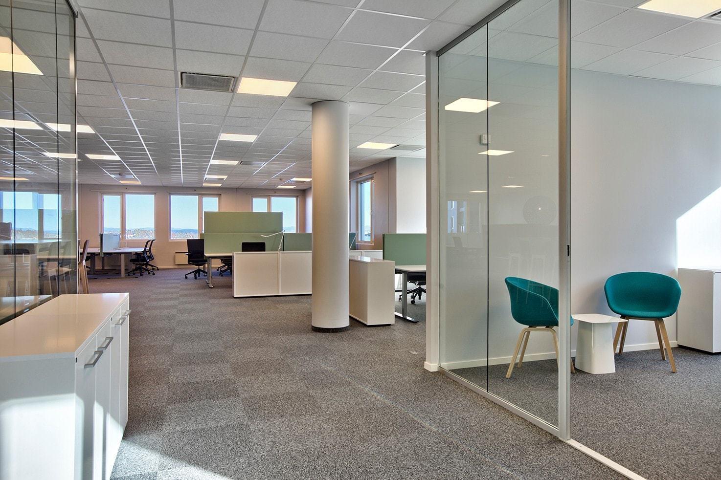 Lyse og arealeffektive kontorlokaler