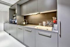 Moderne kjøkken i Business Village kontorfellesskap
