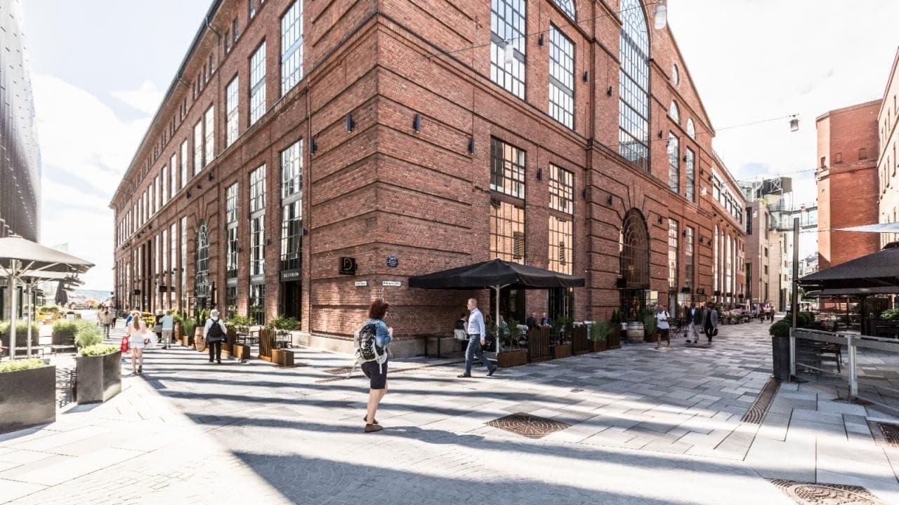 Business Village i Verkstedhallen på Aker Brygge