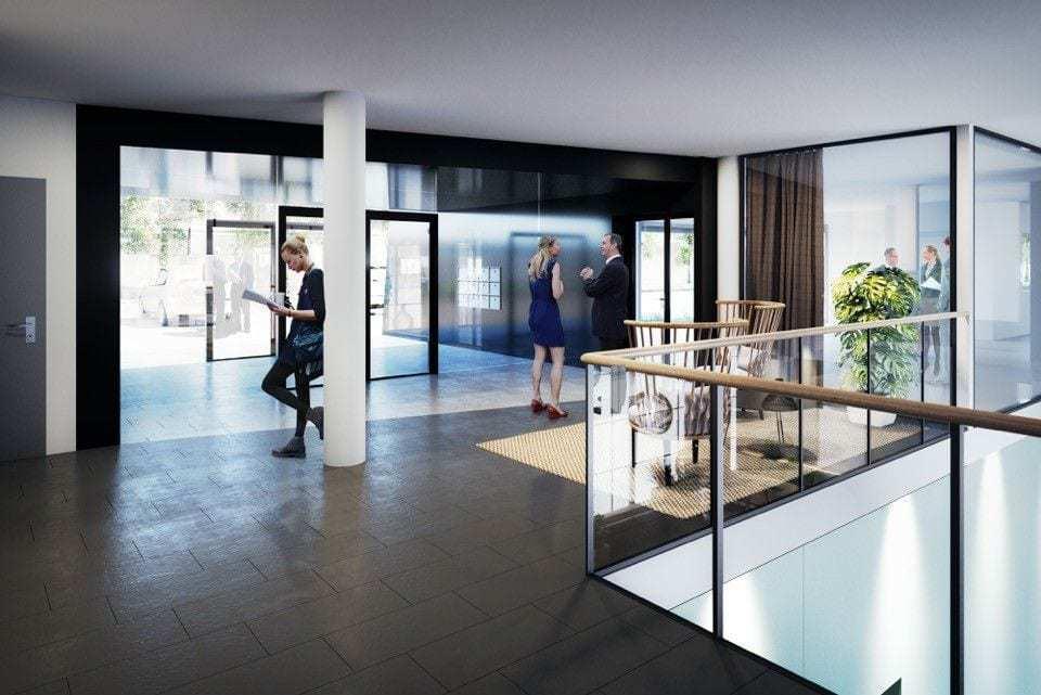 Ny lobby i Sandakerveien 130 planlagt etablert 2017