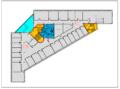 Plantegning 3. etasje